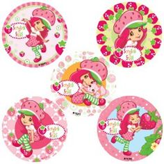 Strawberry Shortcake Scratch and Sniff Value Stickers (5)