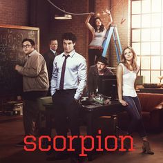 Scorpion tv show - This and Red Band Society are the only new shows this season I actually like.