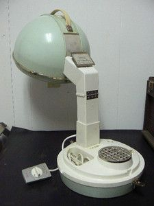 1950s Normandie All Chrome Upright Hair Dryer