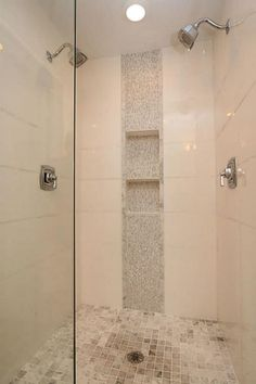 Vertical Shower Accent Tile Ideas   Google Search