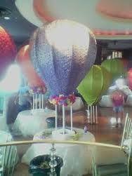 hot air balloon centerpiece diy - Google Search