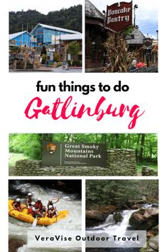 There are so many fun things to do in Gatlinburg. I've been vacationing there for more than 30 years and I always find something fun to do. Here's a quick list of ten fun things you can do in Gatlinburg, TN. Tennessee Gatlinburg, Tennessee Vacation, Gatlinburg Cabins, Tennessee Cabins, Gatlinburg Vacation, Nashville Vacation, Pigeon Forge Tennessee, Mountain Vacations, Family Vacation Destinations