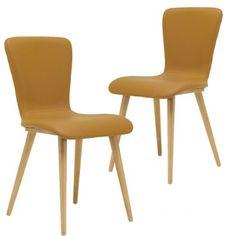 Set of 2 - Valley Dining Chair - Caramel | $369.00 - Milan Direct