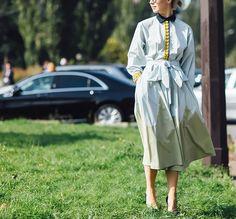Streetstyle на Неделе моды в Париже. Часть 3 | Мода | VOGUE