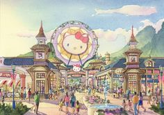 Hello Kitty Theme Park - Coming to China in 2014!