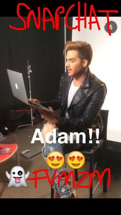 We play SNAP CHAT live with Adam Lambert after 8am tomorrow! Ask him ANYTHING! Snapchat us now FVMZM