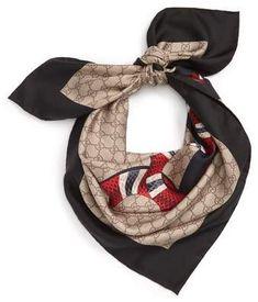 94b28761206 Gucci Snake Print Silk Scarf  gucci  scarf  turban  headscarf  headwraps