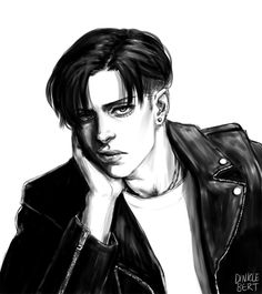 yet another levi sketch -                       Geeking