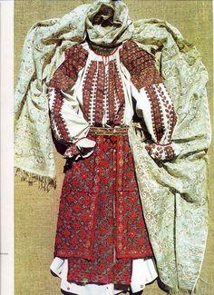Arges, Muntenia (Wallachia) Folk Costume, Costumes, Bohemian, Textiles, Victorian, Traditional, Embroidery, Folklore, Blouse