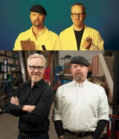 Mythbusters first season, Mythbusters final season.