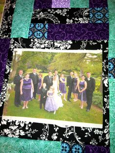 My friend Elvira is making this. Isn't is cool? *memory picture quilt*