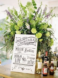 Get your cocktail on: http://www.stylemepretty.com/north-carolina-weddings/chapel-hill-north-carolina/2015/06/19/colorful-spring-north-carolina-farm-wedding/ | Photography: Anna Routh - http://annarouthphoto.com/