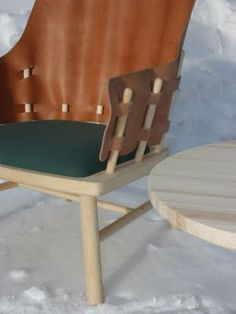 Interesting variation on a windsor chair.