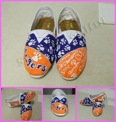 Hand painted customized TOMS: She provides the shoes. $100.00, via Etsy. Everyone needs a pair!