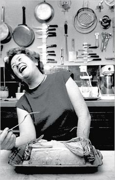 """How can a nation be called great if its bread tastes like Kleenex?""—Julia Child"