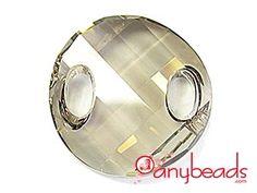 Swarovski Crystal Elements 3221 Twist Sew-on 18mm - Silver Shade