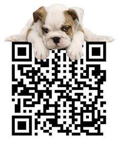 QR Code Design with a Puppy