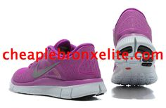 Purple Nike Free Run 3 Womens 510643 500