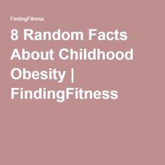 8 Random Facts About Childhood Obesity | FindingFitness