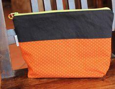 Toiletry bag Purse organizer Cosmetic bag by KennaInAfrica Handmade Clutch, Lightweight Scarf, Purse Organization, African Fabric, Toiletry Bag, Zipper Pouch, Organizers, Bag Making, Cosmetic Bag