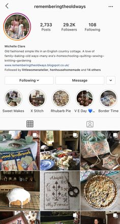 English Country Cottages, Instagram Accounts To Follow, Rhubarb Pie, Baking, Simple, Sweet, How To Make, Food, English Country Houses