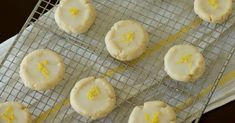 Zesty Lemon Cream Cheese Cookies