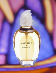 Amarige de Givenchy. I know people think it's insane, but it's sort of fun in that way, if you ask me.