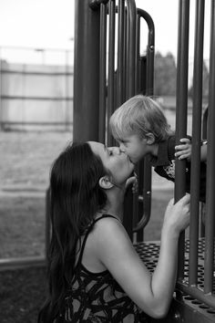 Mother, Son, Kiss, Black and White, Photoshoot, Family
