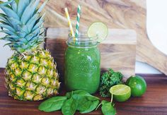 Grønn superfood-smoothie for nybegynnere