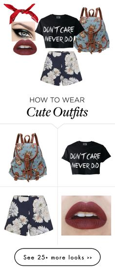 """""""Idgaf outfit"""" by kyana-main on Polyvore"""