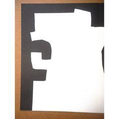 Vintage Mid C. Ltd. Ed. Double Page Lithograph-Derriere Le Miroir-Eduardo Chillida Various Artists, Pop Art, Symbols, Interiors, Vintage, The Originals, Abstract, Prints