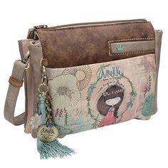 Anekke Nature Τσαντάκι ώμου Satchel, Crossbody Bag, Cute Woman, Online Bags, Different Styles, Messenger Bag, Backpacks, Handbags, Women
