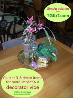 "A ""Simple solution"" photo tip for the home decor/ furniture consignment and resale shops, from the TGtbT.com blog. More: https://auntiekate.wordpress.com/tag/home-decor/"