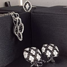 Add a chic touch to your wardrobe with black diamond jewelry. Select from beautiful black diamond rings, earrings, pendants and bracelets that will spice up any outfit. From flower-shaped black diamond rings to black and white diamond twist pendants, you're bound to find something for any occasion. Read more at http://websta.me/n/zhaveri/#1pBDQsHcrDLEH6sr.99Zhaveri Jewelers @zhaveri Instagram photos | Websta (Webstagram)
