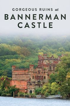 The gorgeous ruins of Bannerman Castle are waiting for you to explore them! In Fishkill, New York.