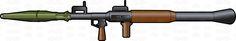 Left Side Profile Of An RPG 7 Rocket Launcher #antitank #booster #breech #burns #equipment #explosive #fire #firearm #firing #grenade #grip #gun #gunpowderboostercharge #handheld #heatshield #highexplosive #iraq #launcher #metal #military #motor #propelled #rebel #rocket #rocketpropelledgrenade #rockets #RPG #RPG7 #shoulder #shoulderfired #sight #soviet #system #terrorists #trigger #USA #war #warheads #weapon #wood #vector #clipart #stock