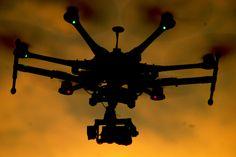 DJI S800 sunset shoot last night...AVPFLY.COM