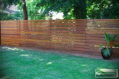 horizontal wooden fences | horizontalfensing-CozyLittleHouses.com