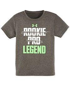 Under Armour Little Boys' Rookie, Pro, Legend T-Shirt