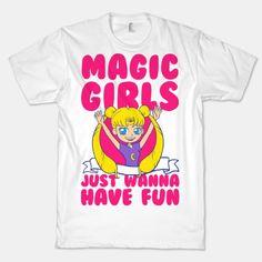 Magical Girls Just Wanna Have Fun