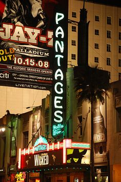 I live near the Pantages theater and have seen many wonderful shows there, including Wicked, Phantom of the Opera, etc. I grew up seeing Broadway shows in NYC and love carrying on the tradition!