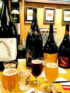 Yes there are big bottles of super delicious beer to enjoy at Russian River Brewing Company Pliny the Younger was Delicious Pliny The Younger, Big Bottle, Local Seo, How To Make Beer, Brewing Company, Brewery, Alcoholic Drinks, Aldo, Bottles