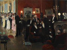 A Parisian Bal, Jean Beraud. French (1849 - 1935)