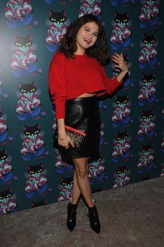 Melonie Diaz Mini Skirt