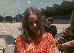 ladyofthecanyons: Michelle Phillips, Monterey Pop Festival 1967