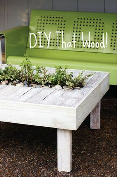 Recycled Garden Projects | DIY That Wood! The Wood Obsessed Edition | The Row House Nest