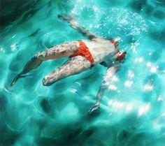 Paintings by Sarah Harvey