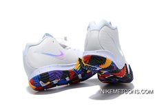 "best deals on 7fb95 41a5e Nike Kyrie 4 NC ""March Madness"" White Multi-Color Best"