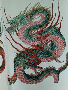 japanese bodysuit tattoos #Japanesetattoos #Bodysuit #Japanese #Japanesetattoos #Tattoos Japanese Tattoo Women, Japanese Tattoo Designs, Japanese Tattoo Art, Japanese Art, Japanese Prints, Chinese Dragon Art, Japanese Dragon Tattoos, Dragon Tattoo Oriental, Asian Dragon Tattoo