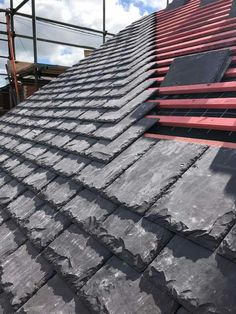 Welsh slate re-roof